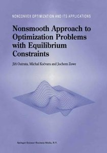 Nonsmooth Approach to Optimization Problems with Equilibrium Con