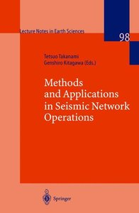 Methods and Applications of Signal Processing in Seismic Network
