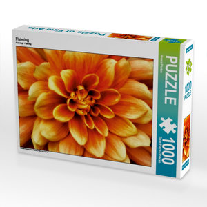 Flalming 1000 Teile Puzzle quer
