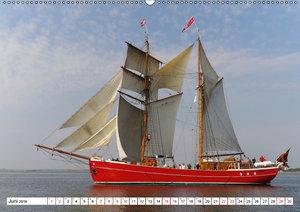 Segelschiffe auf dem Limfjord