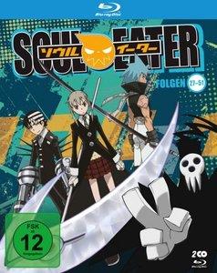 Soul Eater, 2 Blu-ray (inkl. Sammelschuber und Stickerset)