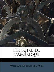 Histoire de l'Amérique Volume 4