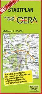 Stadtplan Gera 1 : 20 000