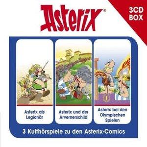 Asterix-3-CD Hörspielbox Vol.4