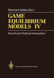 Game Equilibrium Models IV