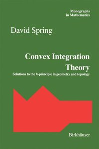 Convex Integration Theory