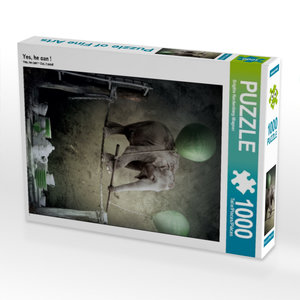 Yes, he can ! 1000 Teile Puzzle hoch