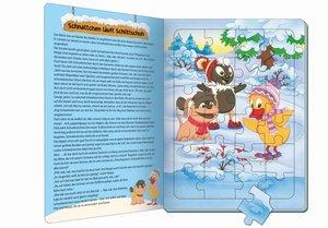 """Winterpuzzlebuch \""""Pittiplatsch\"""""""