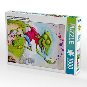 CALVENDO Puzzle Streetart in Koblenz, Deutschland 1000 Teile Leg