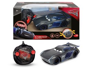 Dickie 203084005 - Disney Cars 3 - RC Turbo Racer Jackson Storm,