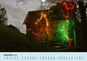 Der Heuhütten-Kalender (Wandkalender 2019 DIN A3 quer)