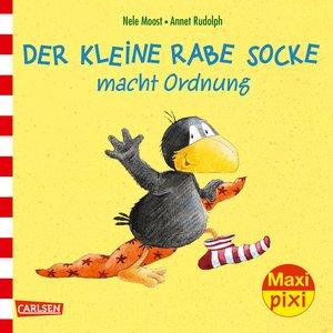 Maxi-Pixi Nr. 232: VE 5 Der kleine Rabe Socke macht Ordnung