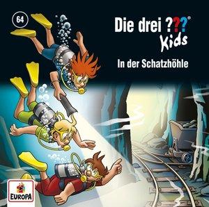Die drei ??? Kids - In der Schatzhöhle, 1 Audio-CD