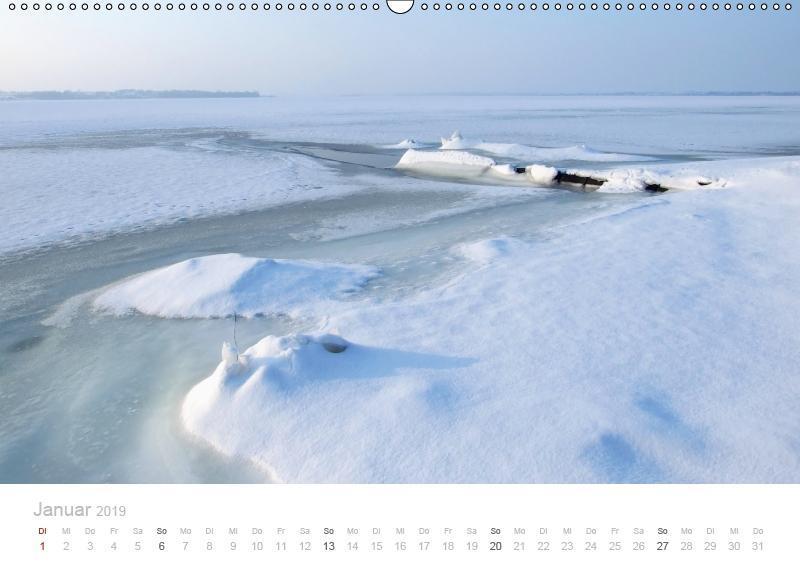 Zauberhafte Schlei (Wandkalender 2019 DIN A2 quer) - zum Schließen ins Bild klicken