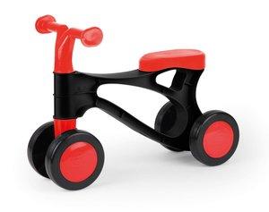 LENA® 07161 - My First Scooter, Laufrad in rot und schwarz, Sitz