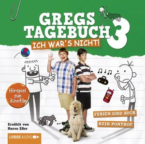 Gregs Film-Tagebuch 3 - Ich war's nicht!