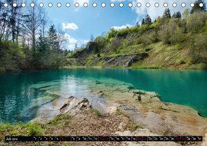 Flüsse und Seen im Harz (Tischkalender 2019 DIN A5 quer)