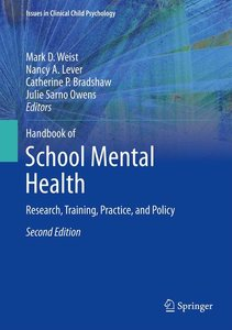 Handbook of School Mental Health
