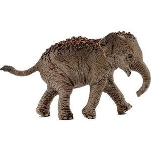 Schleich 14755 - Asiatisches Elefantenbaby, mehrfarbig