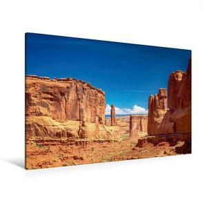 Premium Textil-Leinwand 120 cm x 80 cm quer Arches NP