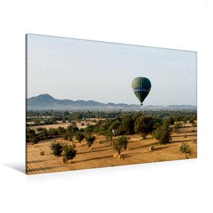 Premium Textil-Leinwand 120 cm x 80 cm quer Mallorca