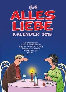 Alles Liebe Kalender 2018