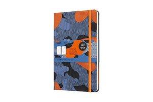 Notizbuch Blend Camouflage Orange