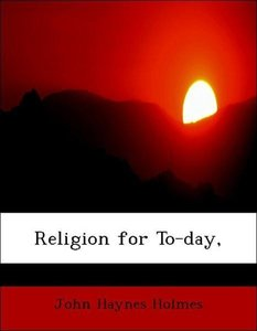 Religion for To-day,