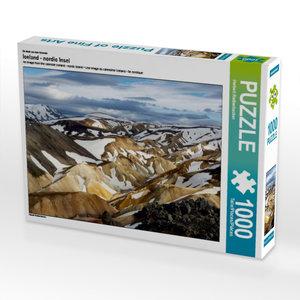 Ein Motiv aus dem Kalender Iceland - nordic Insel 1000 Teile Puz