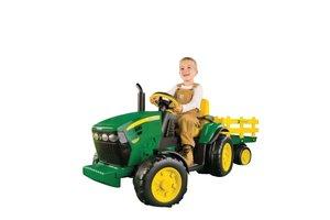 Peg-Pérego 12V Traktor John Deer mit Anhänger
