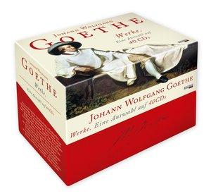 Johann Wolfgang von Goethe - Werke. Eine Auswahl auf 40 CDs