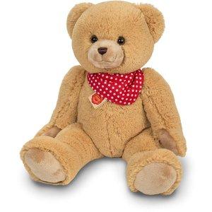 Teddy Hermann 91357 - Teddy Beige, 50 cm mit Tuch, Plüschtier