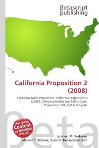 California Proposition 2 (2008)