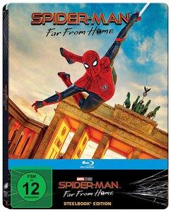 Spider-Man: Far from Home, 1 Blu-ray (Steelbook Brandenburger To