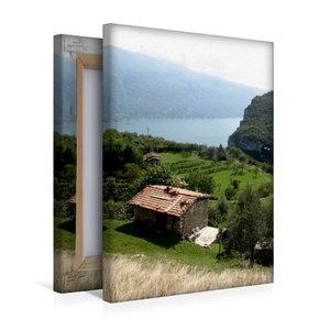 Premium Textil-Leinwand 30 cm x 45 cm hoch Einsamkeit an der Wes