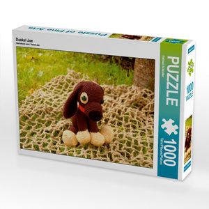 Dackel Joe 1000 Teile Puzzle quer