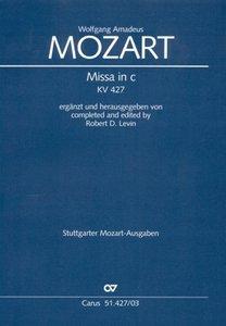 Missa c-Moll KV 427, Klavierauszug