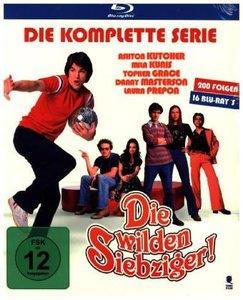 Die wilden Siebziger!. Staffel.1-8, 16 Blu-ray