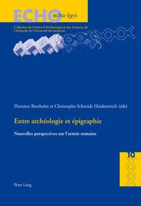 Entre archéologie et épigraphie