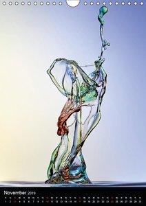 Experimentelle Fotografie Liquid Art (Wandkalender 2019 DIN A4 h