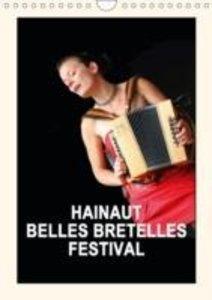 HAINAUT BELLES BRETELLES FESTIVAL (Calendrier mural 2015 DIN A4