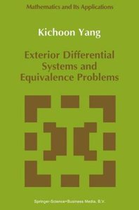 Exterior Differential Systems and Equivalence Problems