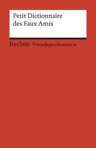 Petit Dictionnaire des Faux Amis
