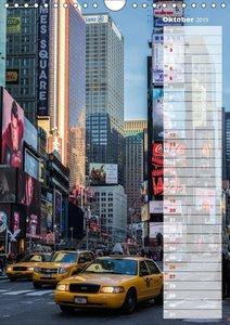 New York City Geburtstagskalender (Wandkalender 2019 DIN A4 hoch
