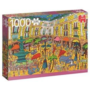 Plaça Reial, Barcelona - 1000 Teile Puzzle