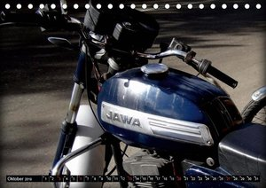 Motorrad-Legenden: JAWA (Tischkalender 2019 DIN A5 quer)