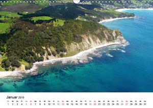 Neuseelands traumhafte Küsten aus der Luft (Wandkalender 2019 DI