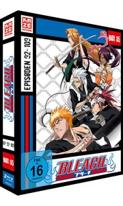 Bleach TV Serie - Blu-ray Box 5 (Episoden 92-109) (3 Blu-rays)
