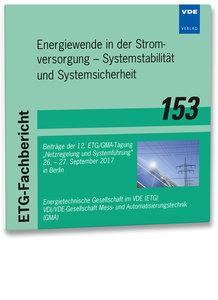 ETG-Fb. 153: Energiewende in der Stromversorgung - Systemstabili