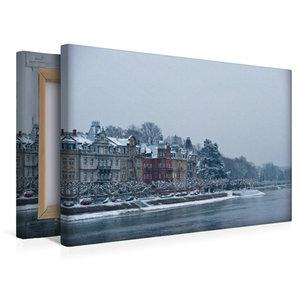 Premium Textil-Leinwand 45 cm x 30 cm quer Konstanzer Bucht